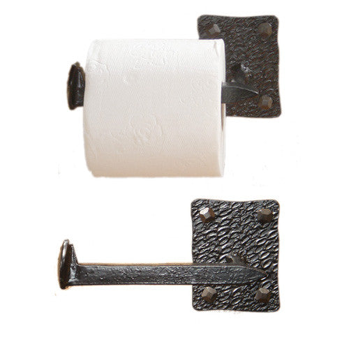 Steins Railroad Spike Toilet Paper Holder Left