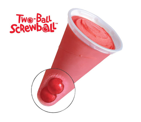 Two Ball Cherry Screwball Blue Bunny (24 count)