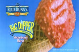 Blue Bunny Big Dipper Strawberry Burst 24 Ct