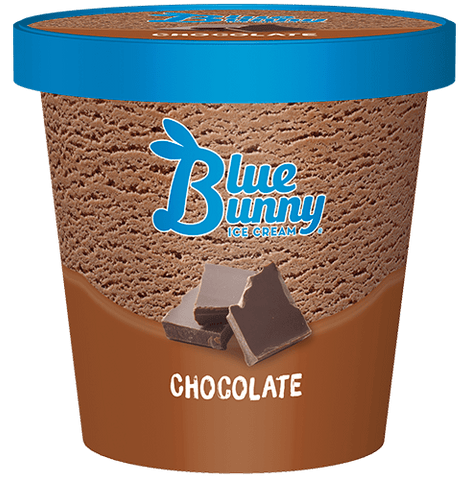 Blue Bunny Chocolate Pints 8ct.