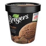 Breyers, All Natural Chocolate Ice Cream, Pint (8 Count)