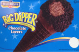 Blue Bunny Chocolate Lovers Dipper Cone 4.3 floz (24 count)