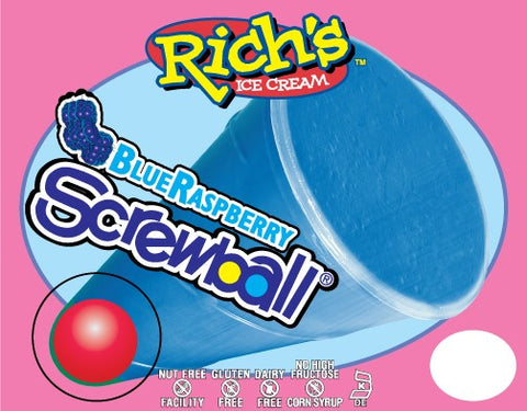 RICH'S Raspberry Screwball 24ct.