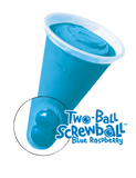 Two Ball Raspberry Screwball Blue Bunny (24 count)