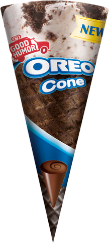 Oreo, King Size Oreo Cone 8oz (12 Count)