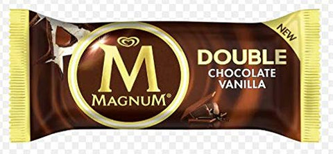 Magnum, Double Chocolate Vanilla Bar (12 Count)