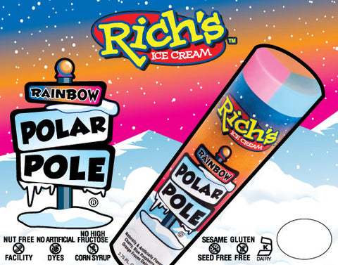 RICH'S Rainbow Polar Pole (24 count)