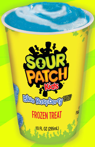 Sour Patch KIDS Blue Raspberry 10floz Frozen Cups (10 Count)
