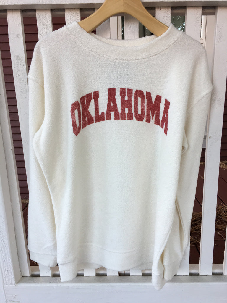 Cream OK Sweatshirt