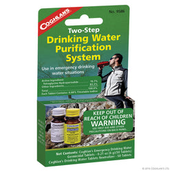 Two-Step Drinking Water Treatment