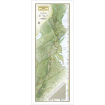 Appalachian Trail Wall Map, Boxed