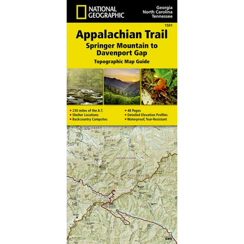Appalachian Trail, Springer Mountain To Davenport Gap