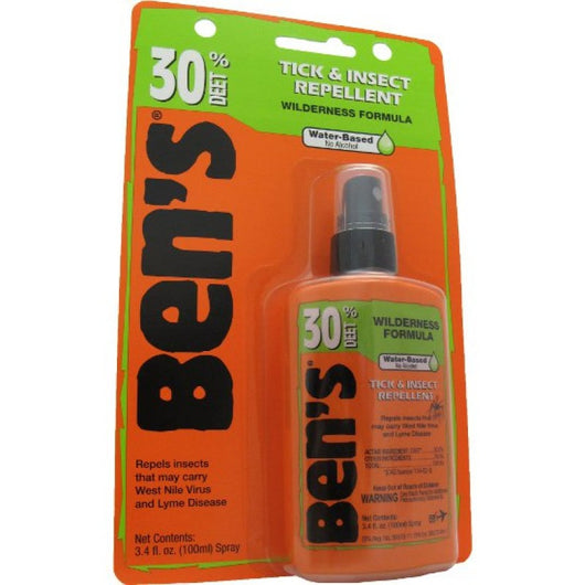 Ben's 30 Tick and Insect Repellent 3.4oz Pump