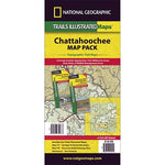 Chattahoochee National Forest [Map Pack Bundle] Trail Maps