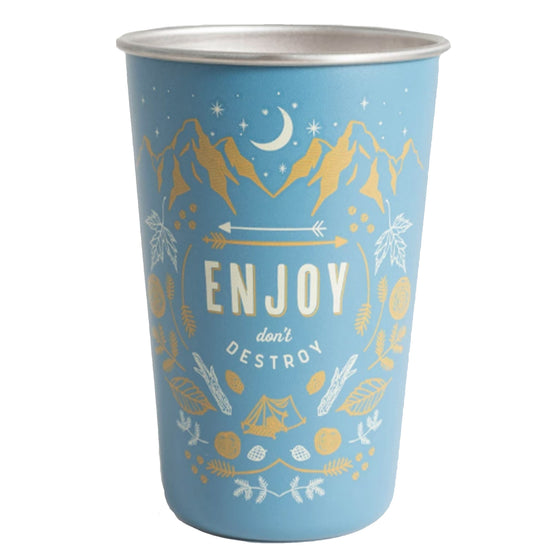 Enjoy 16 oz. Steel Tumbler