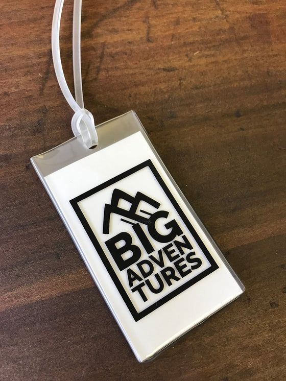 Water-Resistant Luggage Tags