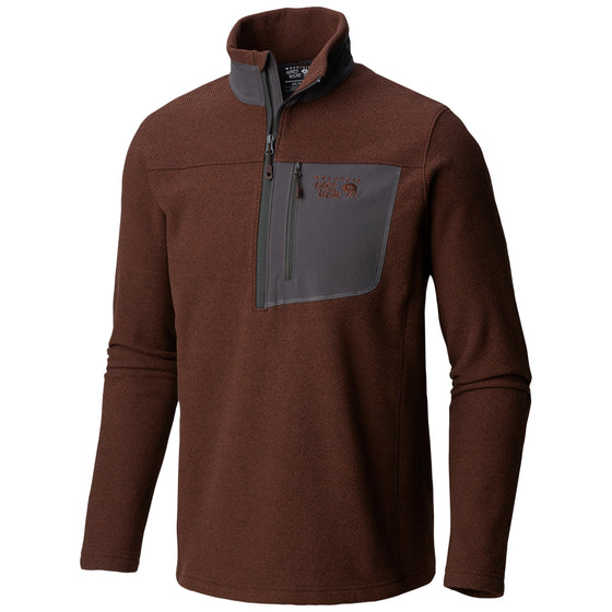 Men's Toasty Twill Fleece 1/2 Zip