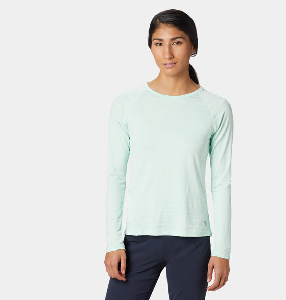 Women's Mighty Stripe Long Sleeve Tee