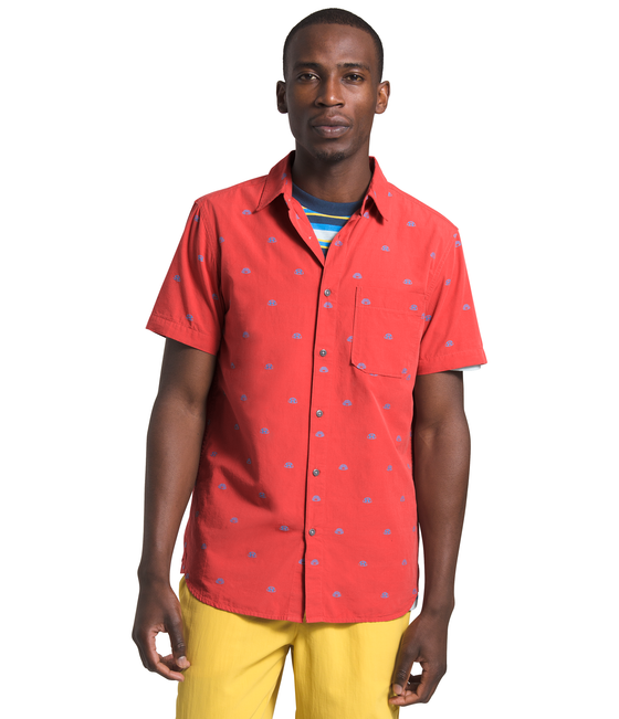 Men's Short Sleeve Baytrail Jacquard Shirt
