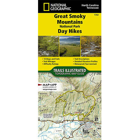 Great Smoky Mountains Day Hikes Trail Guide