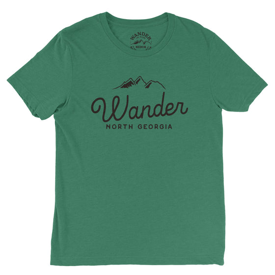 Wander North Georgia Classic Logo T-Shirt [2018/2019]