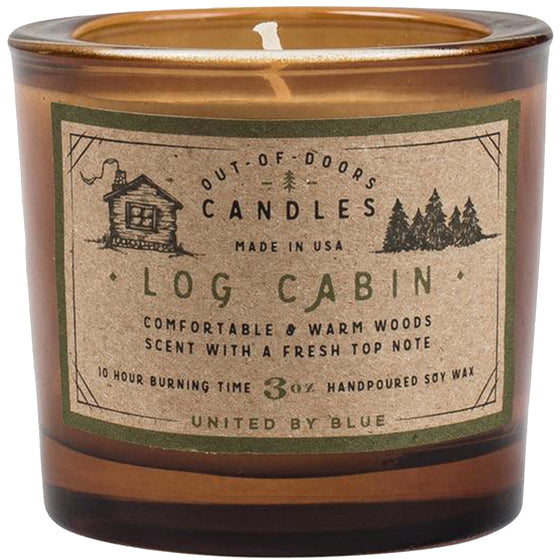 3 oz. Log Cabin Out-of-Doors Candle