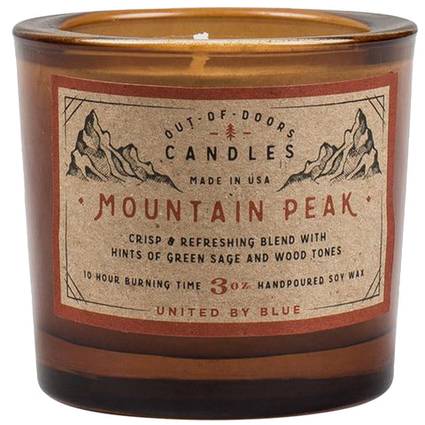 3 oz. Mountain Peak Out-of-Doors Candle