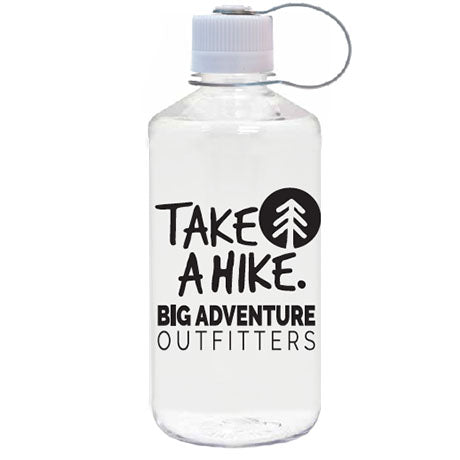 "32 oz ""Take A Hike"" Narrow Mouth Water Bottle"