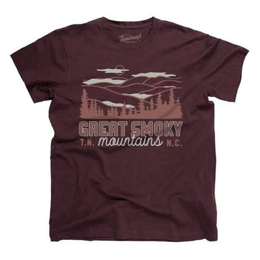 Smoky Mountain Motif Tee
