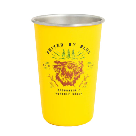 Grizzly 16 oz. Steel Tumbler