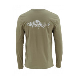 Woodblock Trout Long Sleeve Tee