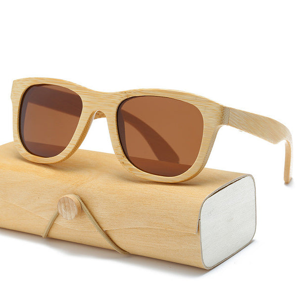 Unisex Wood Framed Sunglasses 17 Styles/Colors to choose from - Savage Garb