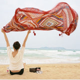 Bohemian Tapestry Wall Hanging/Beach Mat/Shawl - Savage Garb