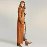 Maxi Cardigan - Rust - Savage Garb