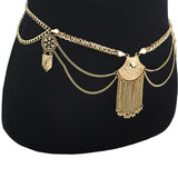 Gold or Silver Boho Belly Chain - Savage Garb