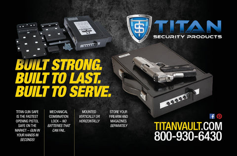 Titan Gun Safe Pistol Vault - Titan Security Products