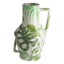 Load image into Gallery viewer, Handpainted Vase Jungle