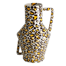 Load image into Gallery viewer, Handpainted Vase Leopard