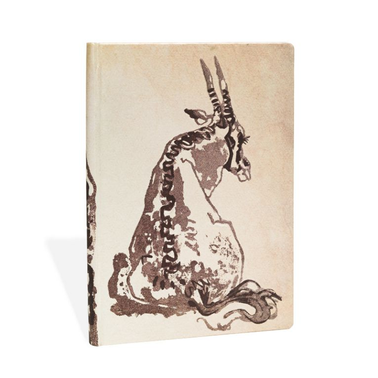 Paperblanks Notebook Midi Lined Solitary Oryx