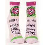 Socks Women Ankle:  Being A Girl