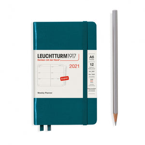 Leuchtturm1917 diary 2021 Pocket Hardcover