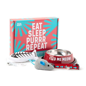 Eat Sleep New Cat Starter Kit