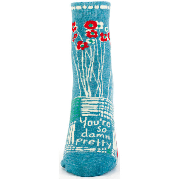 Socks Women Ankle:  YOU'RE SO DAMN PRETTY