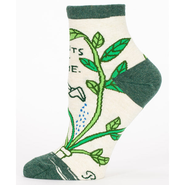 Socks Women Ankle: Plants get me