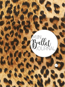 My Bullet Journal - Leopard Print