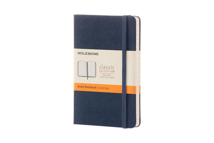 Moleskine notebook classic ruled hardcover