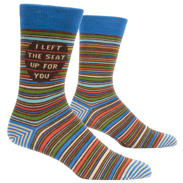 Socks Men: Left the Seat up
