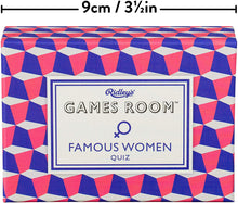 Load image into Gallery viewer, Ridley's Games Room Famous Women Trivia