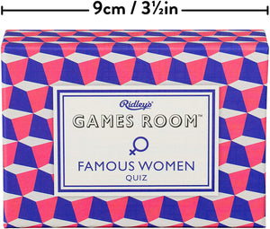 Ridley's Games Room Famous Women Trivia