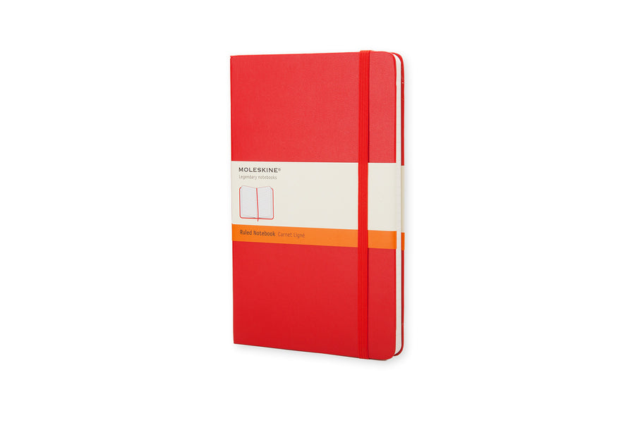 Moleskine notebook hardcover large ruled
